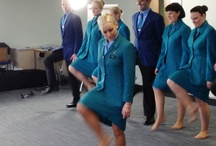Aer Lingus April Fools' Day Shoot / Behind the scenes at Aer Lingus April Fool's day shoot...