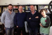 Roddy Doyle at One Productions / Roddy Doyle at One Productions for the new 50 years of JFK in Ireland film.