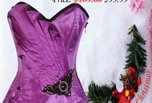 Corset Christmas Sale / Christmas is time for celebration, make this celebration time memorable with your new corset collection by Corsets Queen,