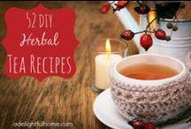 Herbal Teas / Herbal tea blends
