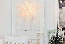 White Christmas / White Christmas & lights! <3
