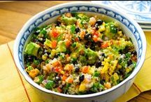 Quinoa   Quinua   Quínoa / Everything quinoa. All we can do with this super food. Because healthy eating doesn't have to be boring   Todo lo que puedes hacer con quínoa. Porque comer saludable no tiene que ser aburrido.