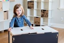 Kid Storage Ideas / If you have the same problem we do, your kids have too many little things, and you need a way to keep them organized. We found a way to solve that problem that we know you will love! Take a look at our collection of all sizes of kid storage furniture. / by Sprout Modern Kids Furniture