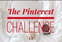 The Pinterest Challenge / The Challenge: for every time that you go on Pinterest in the next 21 days (or for any 21 day period in the future), do one thing that you pin or have pinned in the past. Then repin it onto this board with a description detailing how you enjoyed it. Let's use Pinterest to better our lives, not just waste our time! Go to https://graceineverything.blogspot.com/2016/05/the-pinterest-challenge.html to find out the full deatails of the challenge. And comment/message to be invited to the board. :)