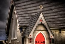 C is also for CHURCHES  / by Cathy Gertner