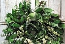 Wreaths / A great impression to your home starts at the front door. And besides, they are pretty and fun / by Robin Murphy