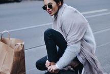STREETS / Style, Fashion, Street Style, NYC, Paris, Milan, Patterns, Trousers, Olivia, Miroslava