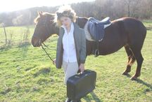 Fashion: Equestrian Photo shoot, France, Katie & Marmalade / France, Photoshoot, Katie and Marmalade, Horse, Country Style