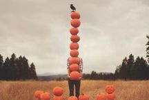"{ Halloween } / The moon laughs and whispers, "" Tis near Halloween."" / by Chelsey Badal"