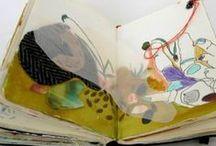sketchbooks/art journals / by Marta Traughber