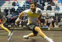 PSA World Tour / Men's Professional Squash - videos and images / by Squash Source