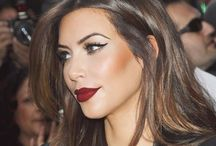 MAKEUP / bold makeup looks from celebs and others