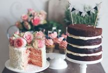 { Cakes } / Cakes. Big and small. / by Chelsey Badal