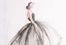 Fashion Illustrations / by Claudine Ursino