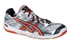 Asics Squash Shoes / All the Asics Squash shoes profiled on Squash Source. / by Squash Source