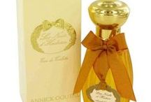 Annick Goutal / Annick Goutal was a concert pianist and fashion model. She later worked with perfumers at Robertet to develop a fragrance for a face cream, and she found her calling; by 1980, she was ready to launch her own fragrance line