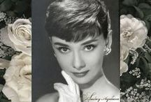 """Audrey Was Her Name"" /  Audrey Hepburn was lovely, a wonderful actress and a humanitarian. / by Pamela Flannery Stevens"