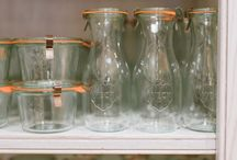 Weck Canning Jars / by Monique @ The Happy Cook