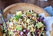 Salads / by Monique @ The Happy Cook