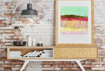 Mati Rose Studio Abstracts / Paintings, yo!