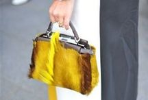 Funky Carriers / Fur, Fringe, Print Bags Galore.