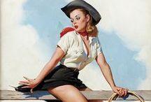 Cowgirl yee-haw!