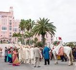 Weddings at Loews Don Cesar Resort / Modern and luxury Weddings and events that take place at the gorgeous Loews Don Cesar Resort on St Petersburg Beach, Florida