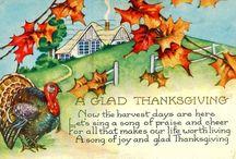 Thanksgiving / Thanksgiving, The act of Giving Thanks / by Karen Harlan