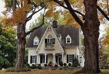 Enchanting abodes / Home of my dreams... / by Karen Harlan