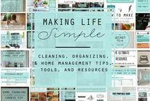 DIY Around the House / Homemade cleaning recipes, natural, healthier and easier ways to take care off your home.