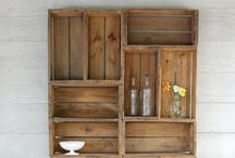 Pallets and crates and shutters, oh my! (and other reclaimed items) / by Carrie Stalter Hiser