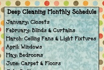 Cleaning Tips, Laundry, Organization, etc. / by Carrie Stalter Hiser