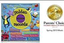 The Magic Continues / Winner of the Parents Choice 2013 Spring Music Gold Award, Golden Records: The Magic Continues recaptures the nostalgic music of yesteryear, creating a collection of 20 beloved classic songs and stories for kids and families to enjoy together. Each track combines the original recordings of the 50's & 60's with the voices of Susan Sarandon, Ed Asner, Alicia Silverstone, Didi Conn, Cheryl Hines, Busy Phillipps, Constance Marie and many more of today's biggest and brightest stars. / by Golden Records