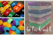Ideas for my Preschoolers :)