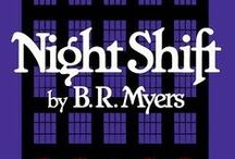 NIGHT SHIFT / At Willard's department store, none of the night security guards survive for long, and eighteen-year-old Daniel Gale is about to find out why. Now available from Amazon. Read the first half for free on wattpad! http://www.wattpad.com/story/4362114-night-shift