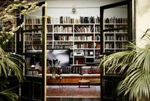 The Library. / Noteworthy Books & Reading Spaces.