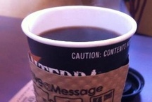 What's in your cup?  / You are what you drink. Let us know if you want to pin a pic of your favorite cup of coffee.