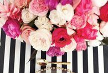 Feeling Floral. / Centerpieces, Arrangements & Floral Layouts.