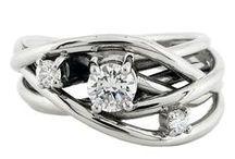 Rachel Helen Bespoke Commissions / A few recent commissions by Rachel Helen.. including wedding & engagement rings