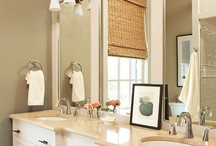 Bathroom Design and Decor / by Carrie Stalter Hiser