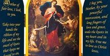 Mary Undoer of Knots / Join Pope Francis in this devotion: Let Our Lady and the Angels untangle the knots in our lives that weigh down our souls and limit us from uniting with God.