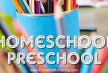 Home Preschool. / by Brennan Martin (Miller)