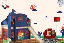 Kids Medieval Theme Room