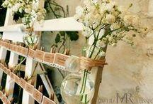 Mariage : idées photo et déco / Des idées de clichés originaux pour illustrer l'organisation d'un mariage