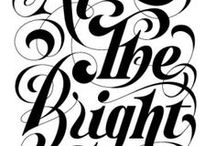 Typography & Lettering / by Marianne Forget