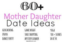 Mother Daughter Activities / Mother Daughter Dates | Mother Daughter Activities | Mother Daughter Crafts | Mother's Day