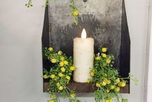 Battery Candles - Swiss Country Lawn & Crafts / www.swisscountrylawn.com