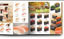 Sushi look book inspiration