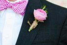 Boutonnières / Guys deserve cool flowers too!  ;)
