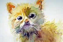 Cat-art-hic / Cats in art